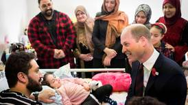 Prince William meets five-year-old Christchurch attack survivor