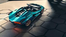 Flashy, limited-edition open-top Lamborghini Sian unveiled: in pictures
