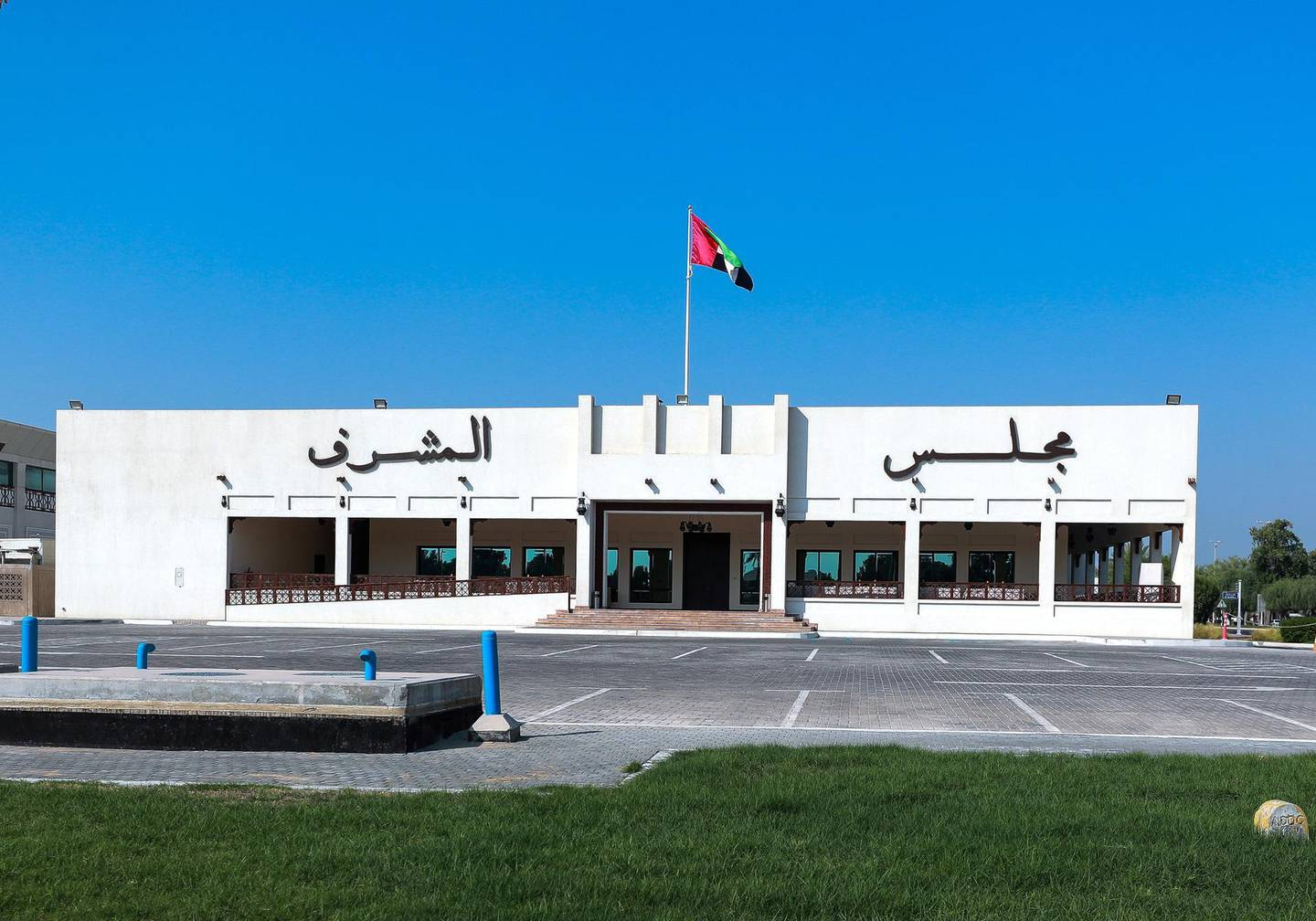 Abu Dhabi, U.A.E., October 3, 2018.    For profile of the neighbourhood around Mushref Coop, please join Haneen Dajani to take photos of those she will interview and general photos of the neighbourhood.--  Wedding Halls for the municipality.Victor Besa/ The NationalSection:  NAReporter:  Haneen Dajani