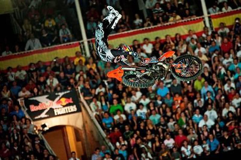 Red Bull x-fighter eventsCredit: Sebastian Marko/Red Bull
