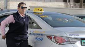 Female taxi drivers in Jordan challenge country's conservative norms
