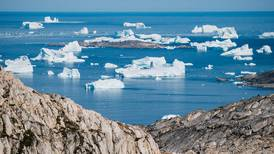 Rain falls at Greenland ice summit for first time on record