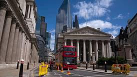 UK economy registers sluggish rebound in May as output shrinks in quarter