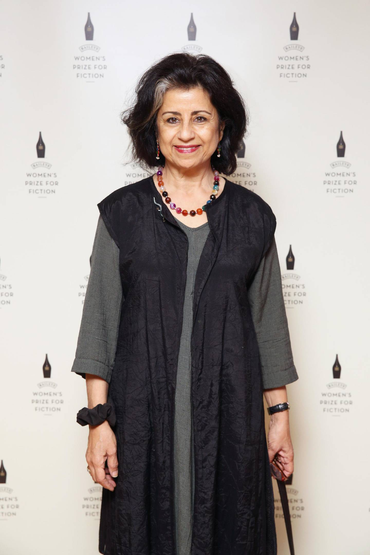 LONDON, ENGLAND - APRIL 11:  Ahdaf Soueif attends the Baileys Women's Prize for Fiction 2016 Shortlist at Royal Festival Hall,  Southbank Centre on April 11, 2016 in London, England.  (Photo by Miles Willis/Getty Images for Baileys)