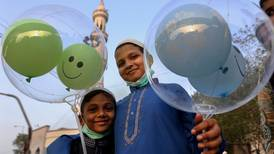 Muslims around the world celebrate Eid Al Fitr - in pictures
