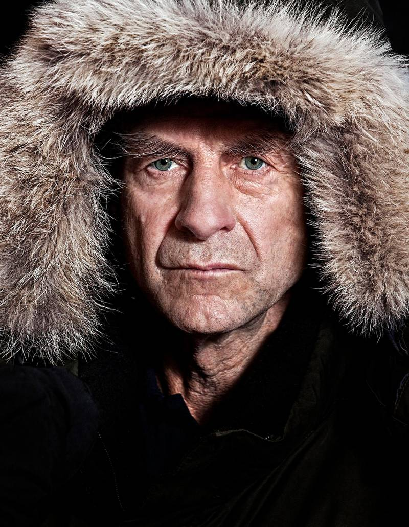 RESIZED. Mandatory Credit: Photo by Chris Winter/REX/Shutterstock (2109572b)Sir Ranulph FiennesSir Ranulph Fiennes at the Royal Society, Pall Mall, London. Britain - 21 Jan 2012Sir Ranulph announced he will be leading a team to take on the last remaining polar challenge by attempting to cross Antarctica in winter, the coldest journey on Earth.