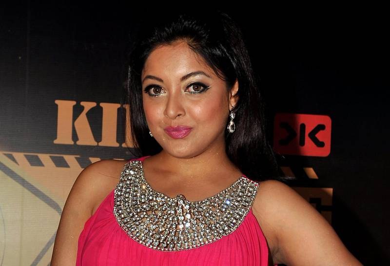 Indian Bollywood ctress Tanushree Dutta poses for a photo during an event for the Mandate Model Hunt contest  in Mumbai on May 4, 2013. AFP PHOTO/ STR / AFP PHOTO / STRDEL