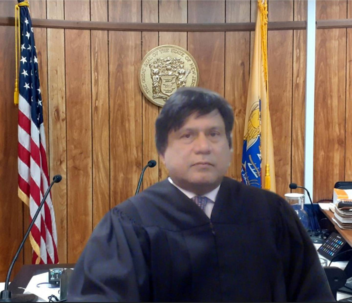 Superior Court Judge Sohail Mohammed tapped into his electrical engineering and technology background from @NJIT to help attorneys adapt to the virtual courtrooms the NJ Judiciary is now using during the #COVID19 pandemic. courtesy: New Jersey Courts twitter account