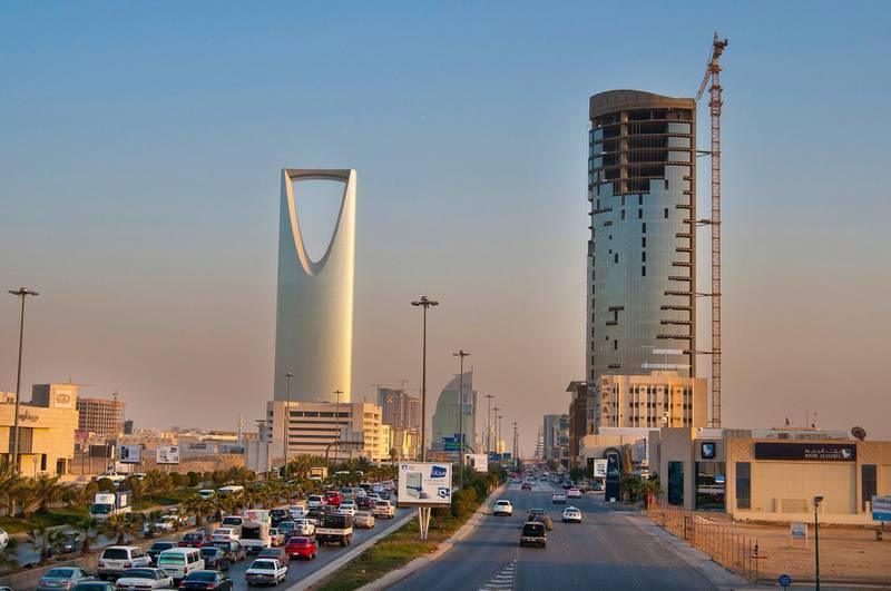4 march 2012 saudia arabia Riyadh king fahad rood Riyadh construction March 4,2012. Waseem Obaidi for The National