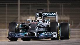 Hamilton wins Bahrain Grand Prix under the lights