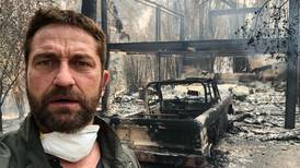 Gerard Butler shares dramatic photo of his destroyed house - asks for support for firefighters