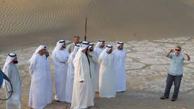 Brushing off sands of time at the archaeological site of Saruq al-Hadid