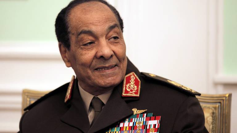 An image that illustrates this article Sheikh Mohamed offers condolences after death of former Egyptian defence minister