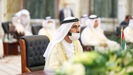 Sheikh Mohammed meets with regional leaders at Baghdad summit