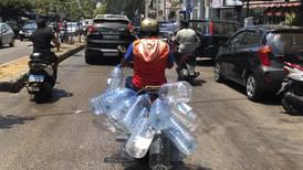 Lebanon: sharp drop in water supply raises health concerns