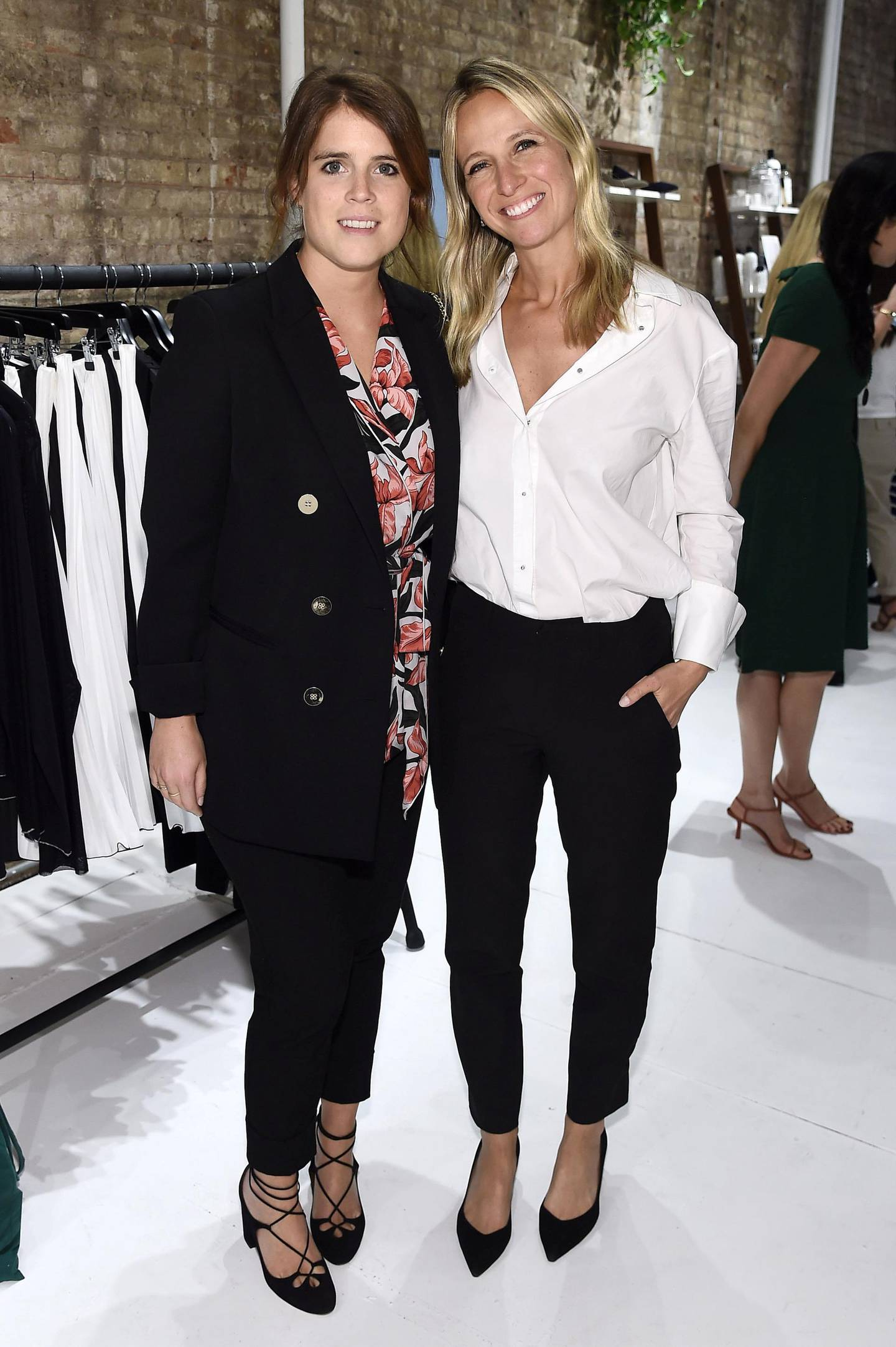 NEW YORK, NEW YORK - SEPTEMBER 09: (EXCLUSIVE COVERAGE) Princess Eugenie of York and Misha Nanoo attend Misha Nonoo Pop-Up Launch Event on September 09, 2019 in New York City. (Photo by Steven Ferdman/Getty Images)