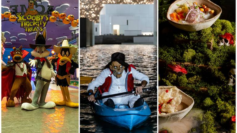 An image that illustrates this article Halloween 2021: The best family activities, dinners and deals in Abu Dhabi