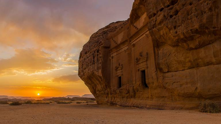 An image that illustrates this article Winter at Tantora Festival returns to Al Ula with concerts and helicopter rides