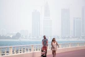 UAE weather: fair and hazy with temperatures in the mid-30s