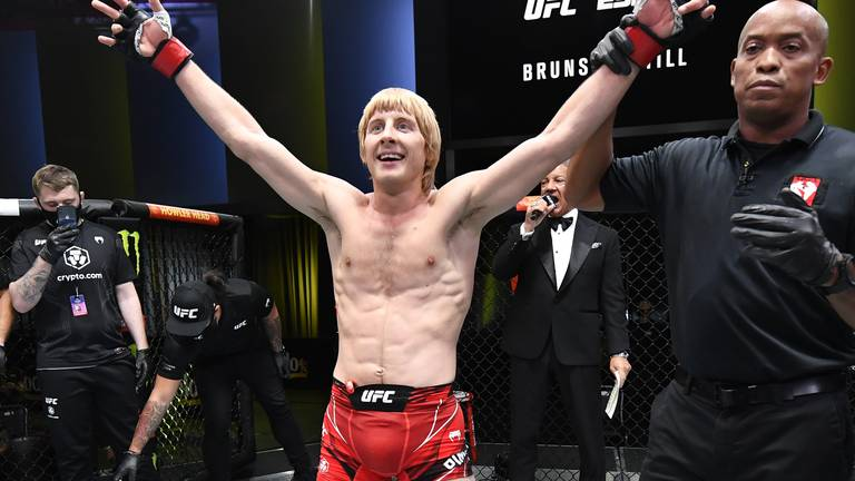 An image that illustrates this article 'I'm here to take over' - Pimblett seals spectacular win on UFC debut