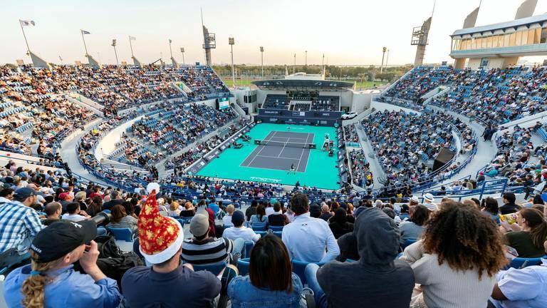 An image that illustrates this article Mubadala Tennis to make Abu Dhabi return