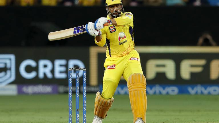 An image that illustrates this article IPL 2021: MS Dhoni magic powers Chennai Super Kings to final