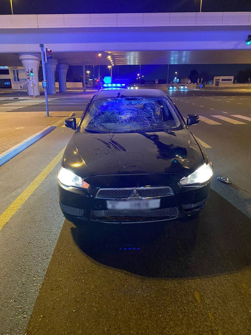 Accident in Dubai