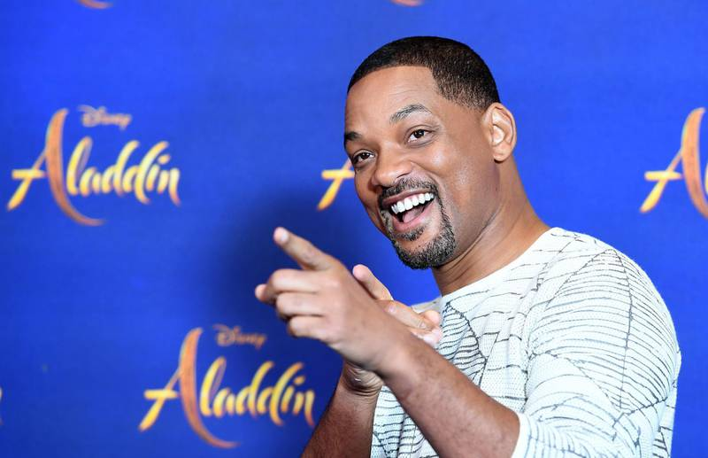 epa07560592 US actor Will Smith attends the Aladdin film premiere photocall in London, Britain, 10 May 2019. Aladdin is released across the UK theaters on 22 May.  EPA/ANDY RAIN