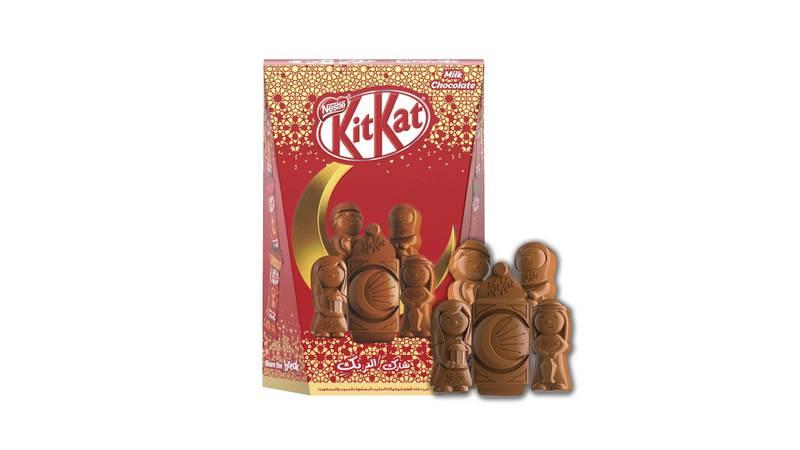 'Icon'praline chocolates, Dh22, KitKat