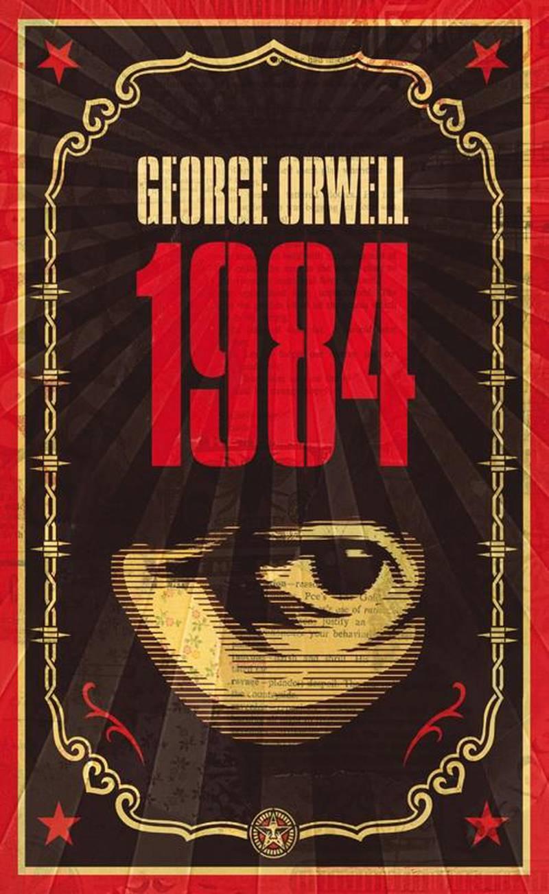 1984 by George Orwell. Courtesy Penguin UK