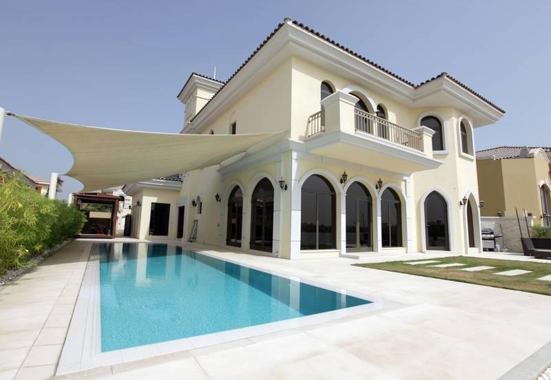United Arab Emirates - Dubai - Aug 03 - 2010 : Villa F-51 on Palm Jumeirah. ( Jaime Puebla / The National ) House&Home