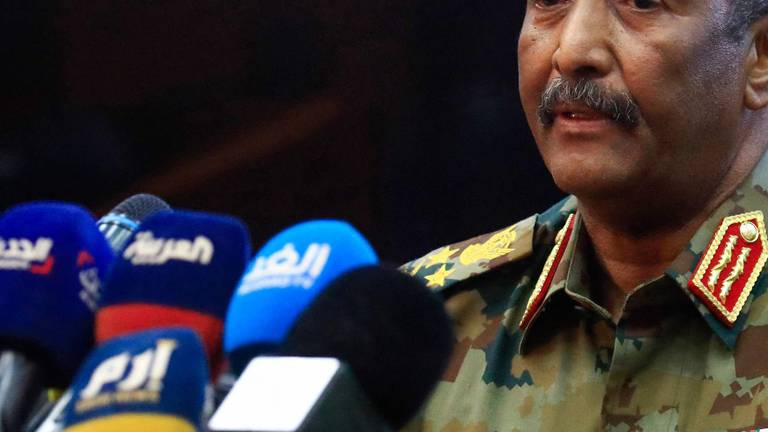 An image that illustrates this article Sudan's top general claims military takeover was meant to prevent civil war