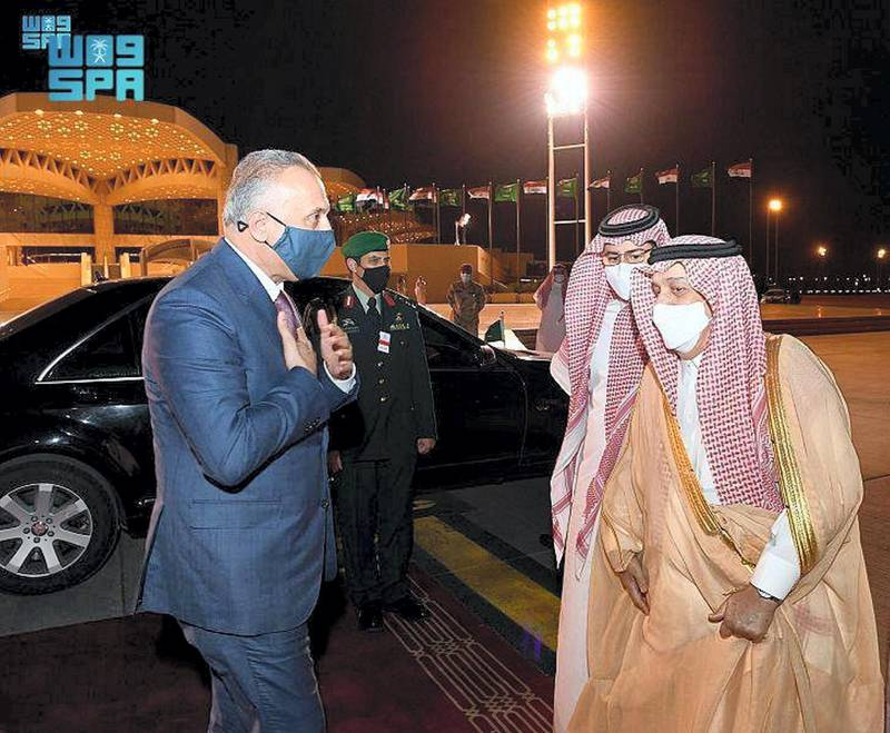 Iraqi Prime Minister Leaves Riyadh