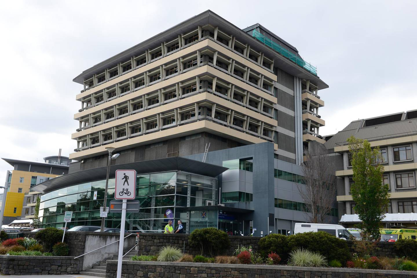 CHRISTCHURCH, NEW ZEALAND  MARCH 15: Christchurch Hospital is seen on March 15, 2019 in Christchurch, New Zealand. Four people are in custody following mass shootings at two mosques in the city. At least 40 people are confirmed dead and 20 others injured in the attacks that occurred at Al Noor mosque and the Linwood Masjid in Christchurch.  (Photo by Kurt Langer/Getty Images)