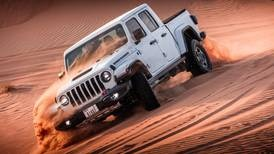 Off-roading with the Jeep Gladiator Sand Runner: how does the pickup fare on UAE dunes?