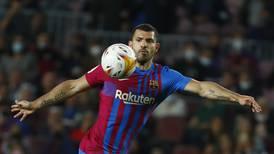 Sergio Aguero and Ansu Fati give hope to beleaguered Barcelona