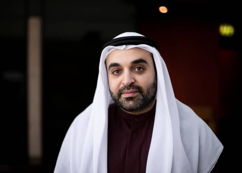 DUBAI, UNITED ARAB EMIRATES. 14 DECEMBER 2020. Mohammed Altajir, is the founder of Tratok Portal.(Photo: Reem Mohammed/The National)Reporter:Section:
