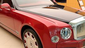 The final stretch for Bentley's limousines