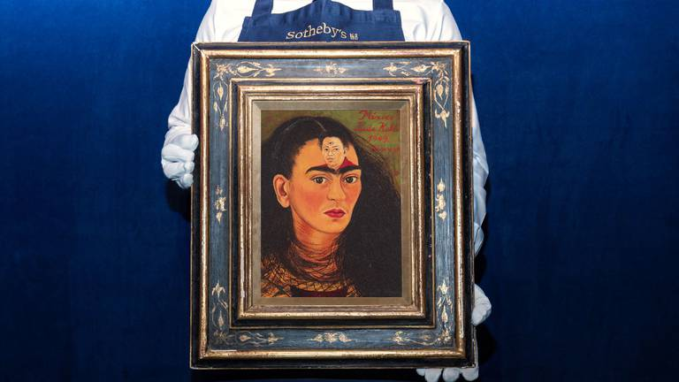 An image that illustrates this article Frida Kahlo self-portrait expected to smash records with $30m sale