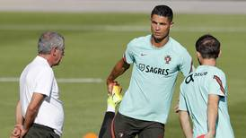 Cristiano Ronaldo trains with Portugal ahead of Manchester United move - in pictures