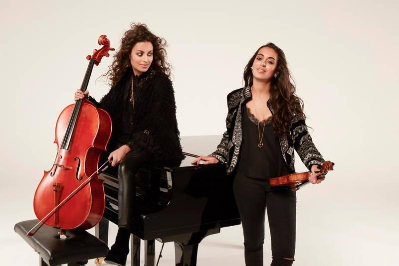 The Ayoub Sisters - Sarah and Laura. Courtesy The Ayoub Sisters
