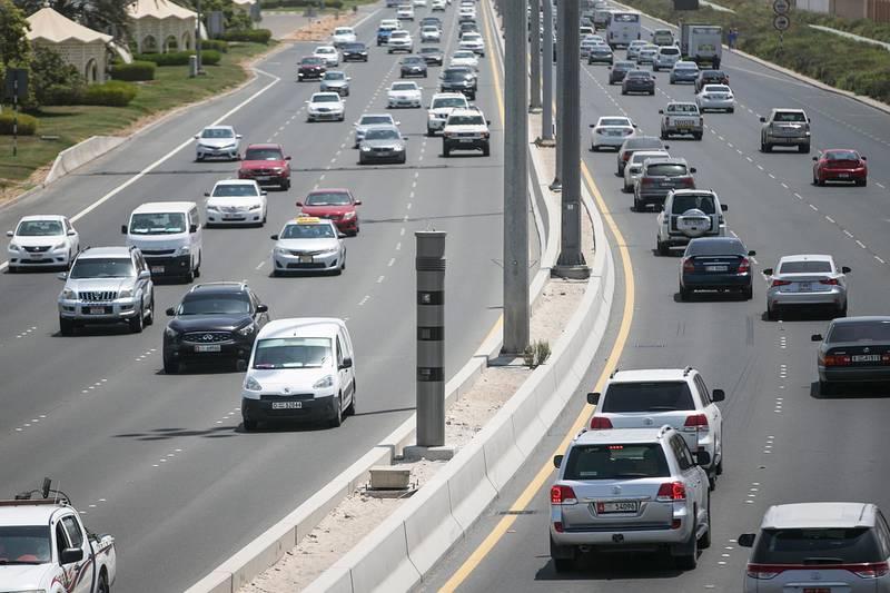 Abu Dhabi, United Arab Emirates. August 25, 2016///Stock images of radars and traffic cameras. Abu Dhabi, United Arab Emirates. Mona Al Marzooqi/ The National ID: 36270Section: National  *** Local Caption ***  160825-MM-Stockradars-008.JPG