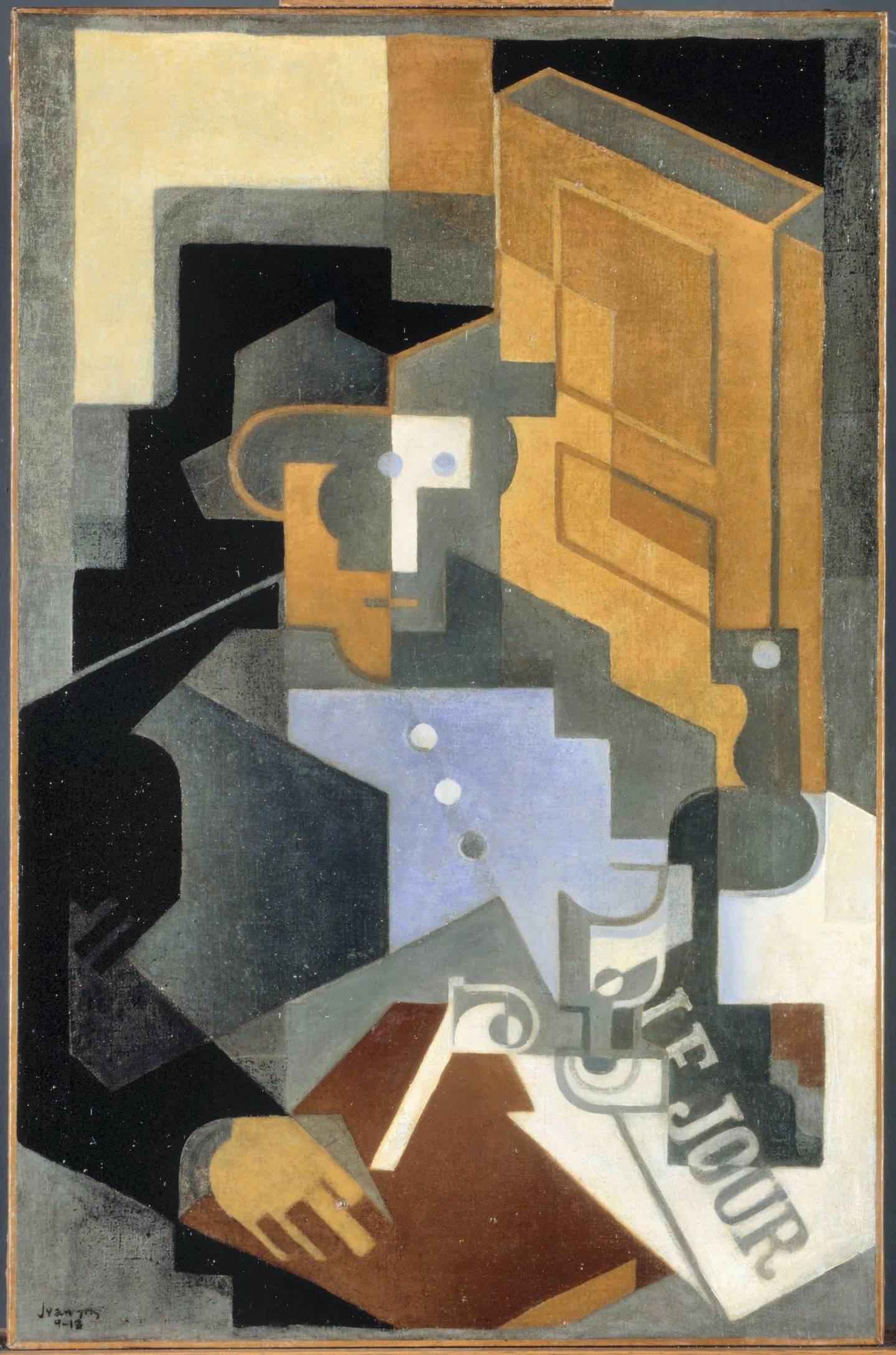 Gris Juan (dit), Gonzales Perez Jose Victoriano (1887-1927). Paris, Centre Pompidou - Musée national d'art moderne - Centre de création industrielle. AM3976P. Courtesy Louvre Abu Dhabi