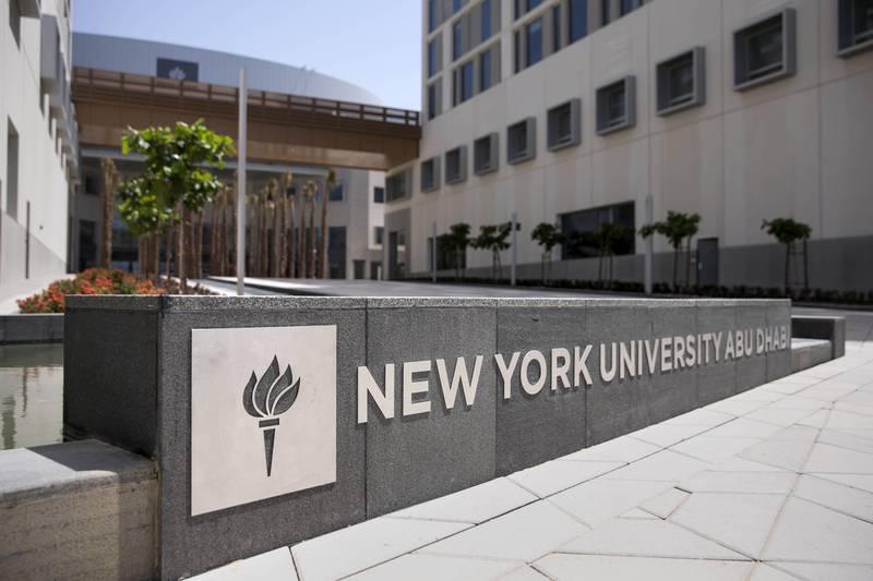 Provided photo of the new New York University Abu Dhabi campus on Saadiyat Island.   Courtesy NYUAD