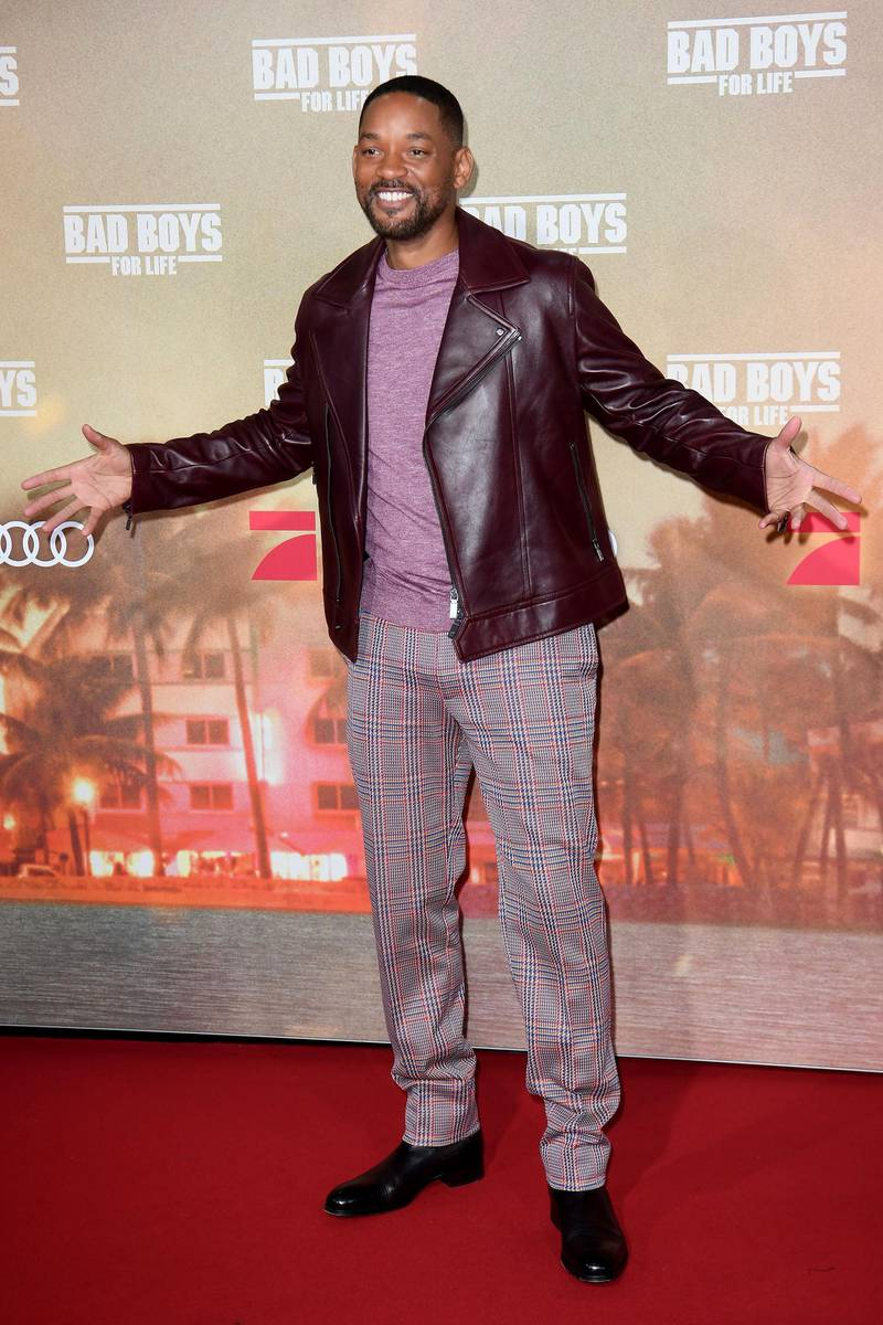 """BERLIN, GERMANY - JANUARY 07: Will Smith attends the Berlin premiere of the movie """"Bad Boys For Life"""" at Zoo Palast on January 07, 2020 in Berlin, Germany. (Photo by Matthias Nareyek/Getty Images for Sony Pictures)"""