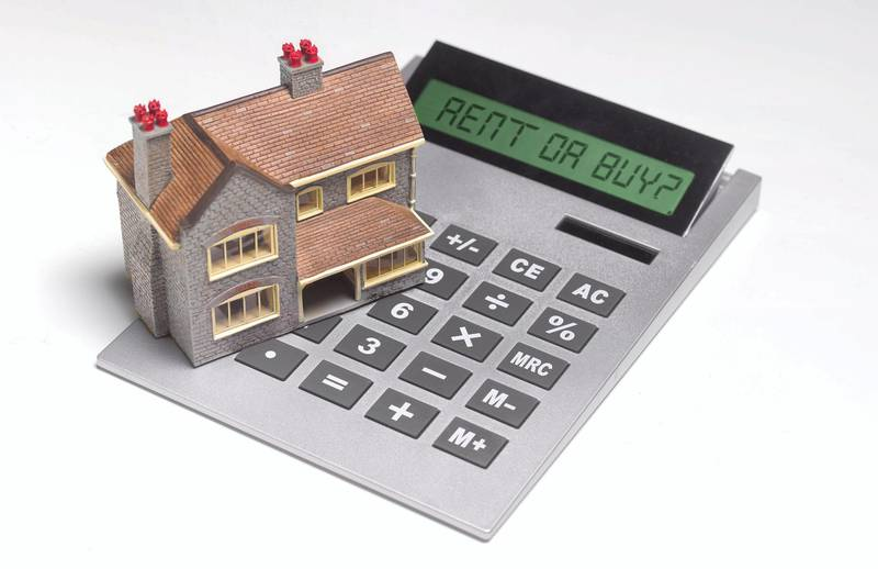 Home finances, rent or buy