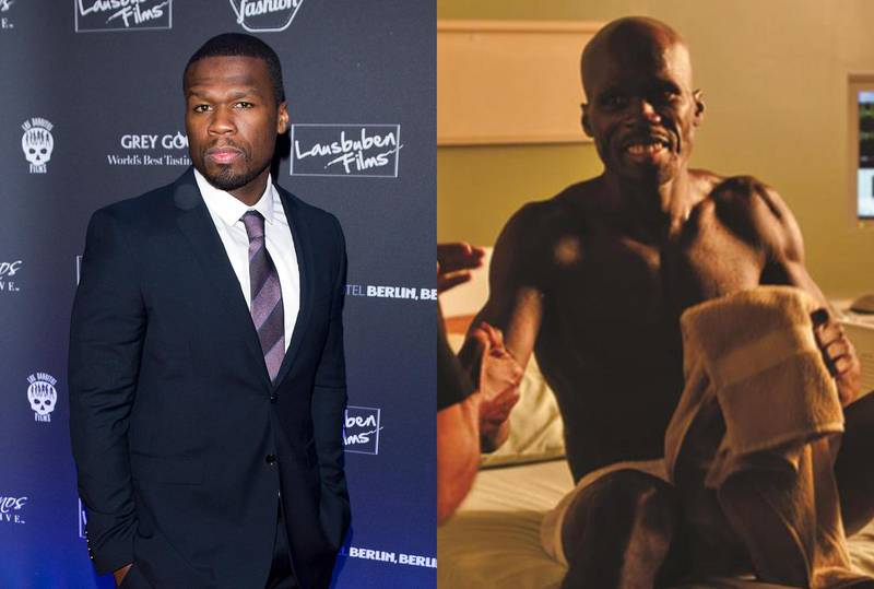 50 Cent in All Things Fall Apart