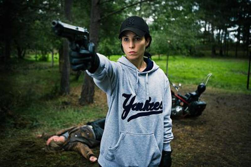 Lisbeth Salander (Noomi Rapace) stars in Music Box Films' The Girl Who Played with Fire.