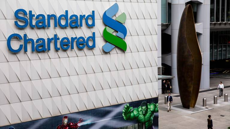 An image that illustrates this article Standard Chartered sets up digital-only bank in Singapore