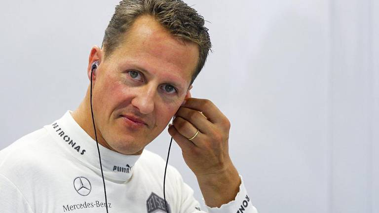 An image that illustrates this article Schumacher 'different but here' as wife provides update on recovery
